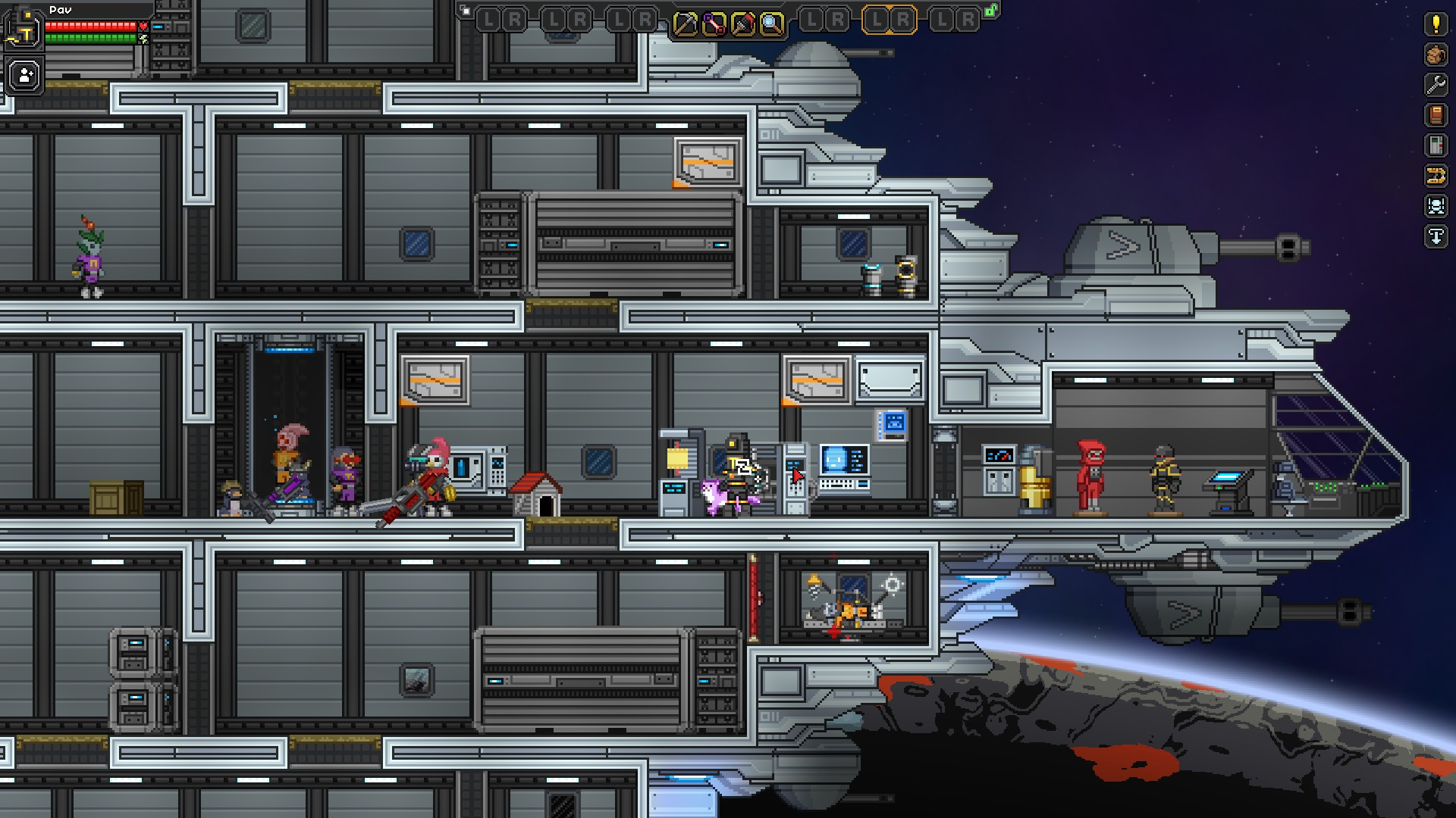 Upgraded Apex Ship Starbound