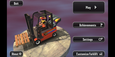 Extreme Forklifting 2 main screen