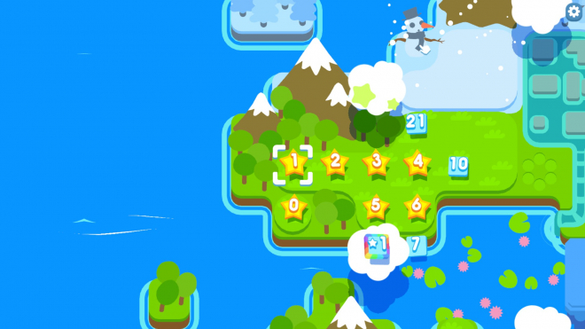 Snakebird Level Select