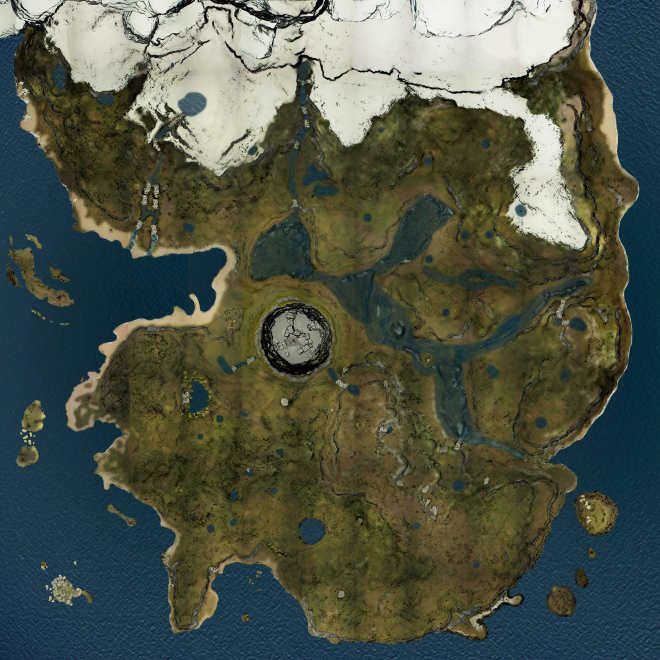 The Forest's Whole Map