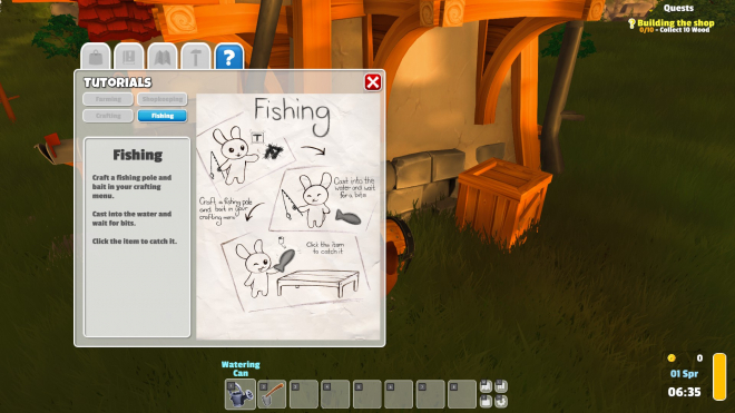Fishing Tutorial
